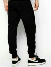 Chino Comfy Jogger Pants Black (28 to 34) #crzycod