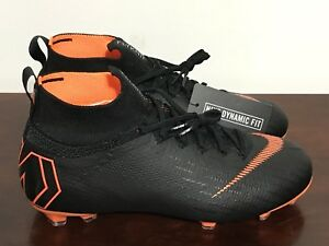 6b0ee306d Nike JR Mercurial Superfly 6 Elite FG Soccer Cleats AH7340-081 Size ...
