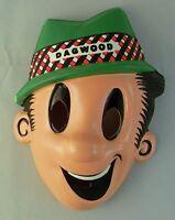 Vintage 1960s Dagwood Vacuform Plastic Halloween Mask