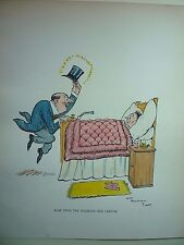 "H.M.BATEMAN "" BACK FROM HOLIDAYS-- THE DOCTOR "" RARE. 1919"