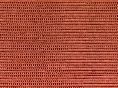 Ancora Traccia 56690 H0, Coda Di Castoro, Rosso 25x12,5cm (prezzo Base 1qm = 53,33 Euro)-mostra Il Titolo Originale Delizie Amate Da Tutti