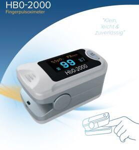 Hb0-2000-Pulsoximeter-Pulsoxymeter-Finger-Puls-Oxi-Oximeter-Pulsoxy-DeVilbiss