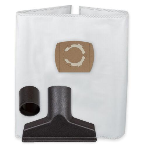 5 Staubsaugerbeutel Vlies Düse Polster geeignet für Parkside PNTS 1250 1300 1400