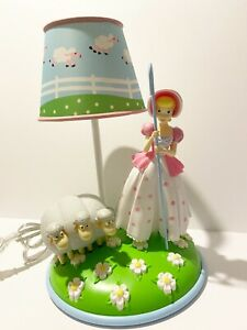 Disney Pixar Toy Story 4 Bo Peep Table Lamp Figure w Collectible Doll