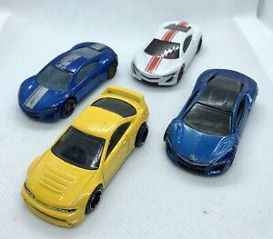 Hot-Wheels-Acura-paquete-JOBLOT-Die-Cast-vehiculo-NSX-integra