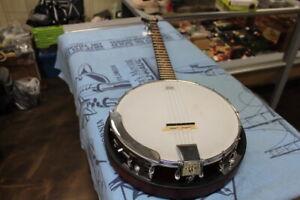 Distingué Nouveau Rocky Top 5 String Banjo Par Morgan Monroe-magnifique!-afficher Le Titre D'origine