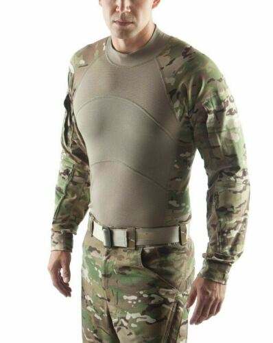 NEW Massif ACS Army Combat Shirt MULTICAM Flame Resistant FR Tactical OCP S-ML00