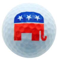 Republican Elephant Golf Ball Novelty Golfer Gift For Golfing Usa Election 2016