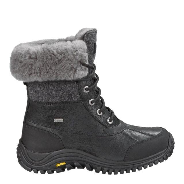 059c6878998 1008465 Womens UGG Australia Adirondack Boot II!! BLACK!! WATERPROOF!!