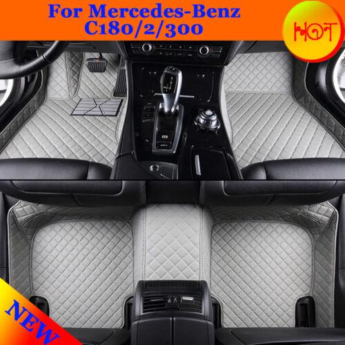 Professional Auto Waterproof Liner GS01 For Mercedes-Benz C180//2//300 Floor Mats