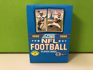 1990-Score-Football-Wax-Pack-Box-series-2-Two-CASE-FRESH