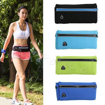 Hot Sale Waterproof Waist Pack Running Jogging Gym Belt Fanny Bag Wallet Pouch
