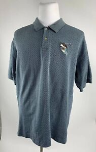 Warner-Bros-Studio-Store-Men-039-s-Sz-XL-Golf-Polo-Shirt-Taz-Tasmanian-Devil-Caddy