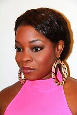 **NEW BASKETBALL WIVES INSPIRED TRIBAL VINTAGE EARRING PAPARAZZI POPARAZZI**