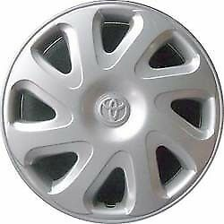 Image Is Loading Genuine Toyota Corolla 2000 2002 Hubcap Part No