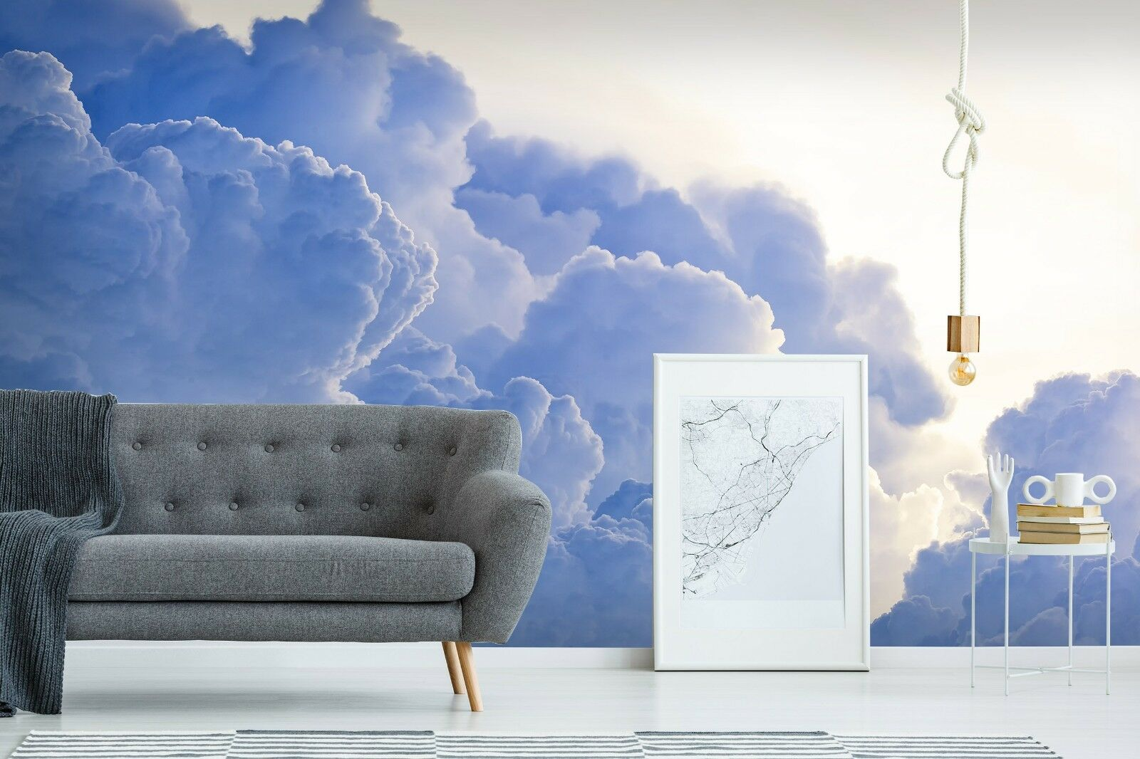 3D Dark Clouds Smoke 4 Wall Paper Wall Print Decal Wall Deco Indoor Wall Murals