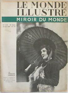 Discipliné Le Monde Illustré Miroir Du Monde N°4240 - 1939 - Gibraltar 5000 Ans D'histoire