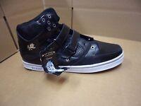 Vlado Footwear Men's Knight Black / White Hightop Shoes