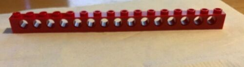 Brick 1 x 16 with Holes Technic LEGO Choose Your Color pick select #3703
