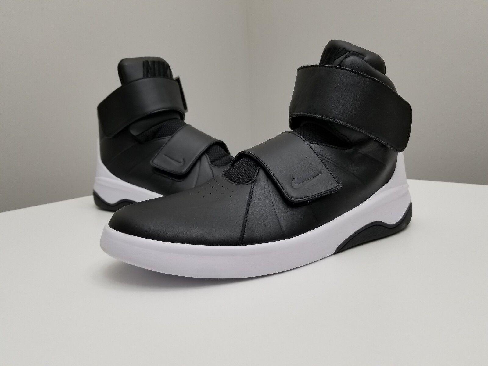 NEW NIKE MARXMAN Casual Hi Top shoes SZ 11 Black White 832764-001 westbrook