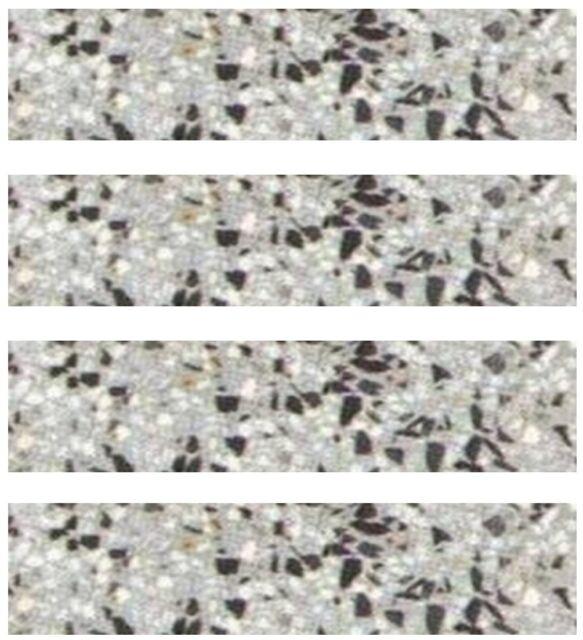 Terrazzo-Sockelleisten, 1 St. Linda 30 x 7,5 x 1,2cm  plus 1 St. STELA
