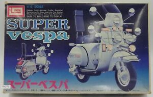 Imai-Super-Vespa-P200E-1-12-Scale-Motorcycle-Plastic-Model-Kit-Display-PM772