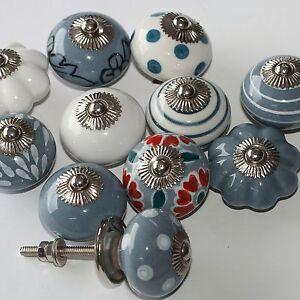 Moebelknopf-Moebelgriff-Moebelknoepfe-Keramik-Moebelknaeufe-Knauf-Griffe-Tauben-Grau