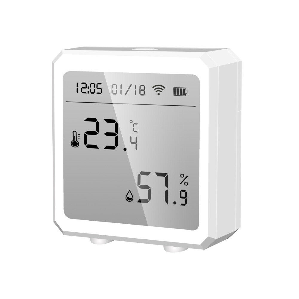 WIFI Temperature Meter Hygrometer Thermometer Fit Home Indoor Alexa Google use