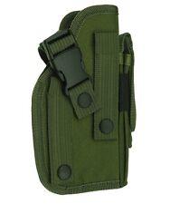 MOLLE OD Green Ambidextrous Gun Belt Holster BB Airsoft Pistol Tactical 307G