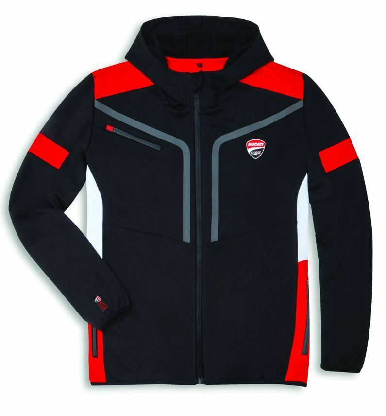 DUCATI CORSE POWER HOODED SWEATSHIRT