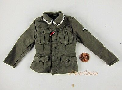 Dragon 1/6 Toy Figur WW2 German Officer Service Dress Green UNIFORM TUNIC DA144
