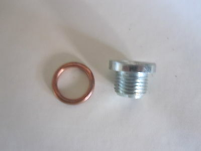 New P6 Rover P6B V8 Engine Sump Magnetic DRAIN PLUG /& WASHER set.