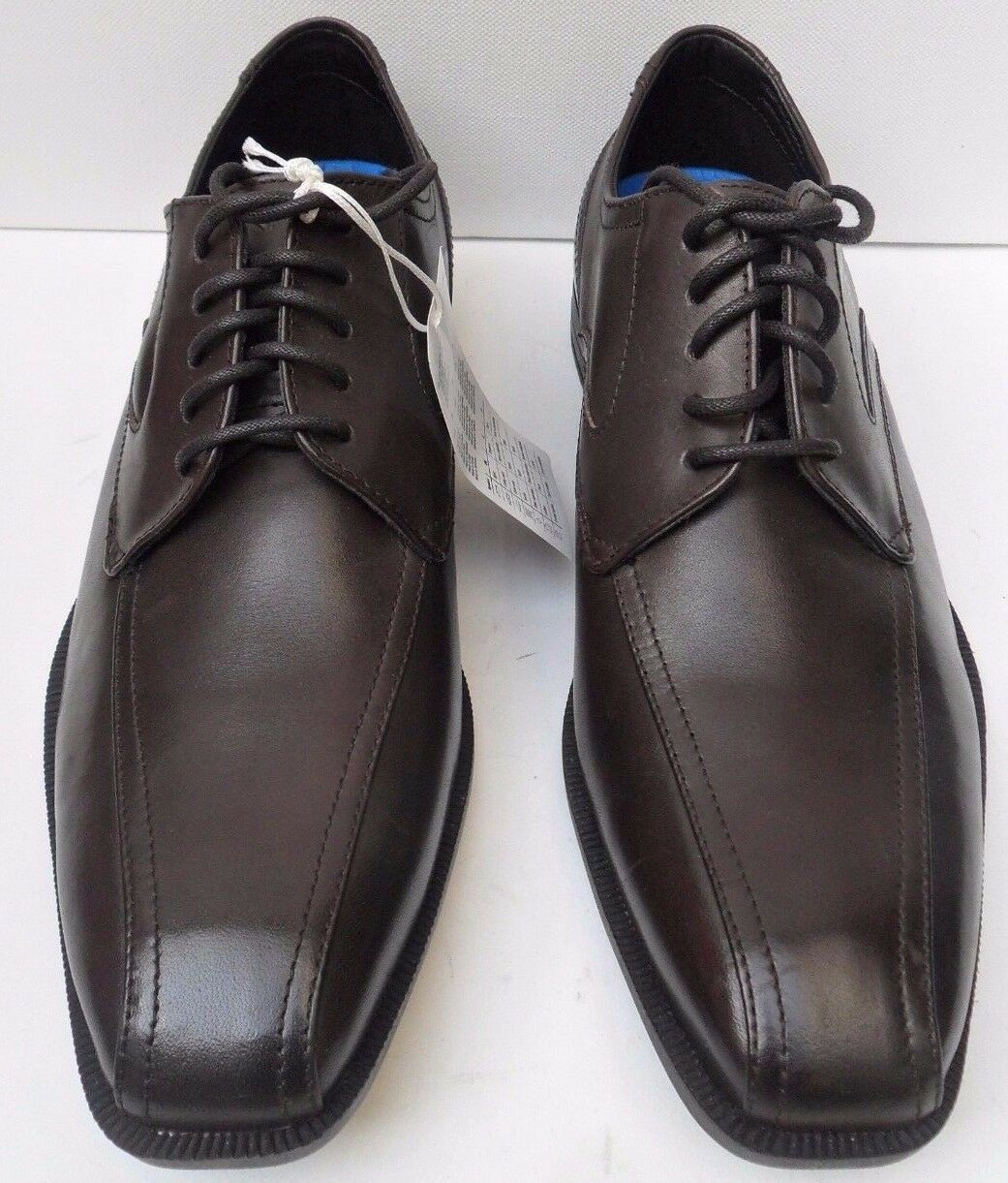 Mens Rockport Brown Leather Lace Up Smart Dress Shoes - Size UK 6 EUR 39