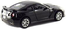 "Brand New 5"" Kinsmart 2009 Nissan GT-R R35 Diecast Model Toy Car 1:36 Black"