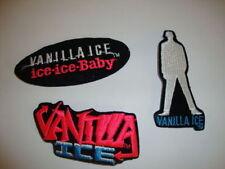 VINTAGE VANILLA ICE CLASSIC PATCHES 3 FOR 1 MONEY ROBERT MATTHEW VANWINKLE ICE