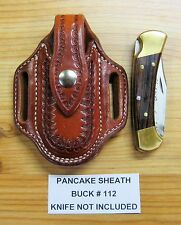 Custom Pancake Sheath for the Buck #112 Folding Hunter Knife