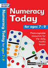 Numeracy Today for Ages 7-9: Photocopiable Resources for the Numeracy Hour by Andrew Brodie (Paperback, 2005)