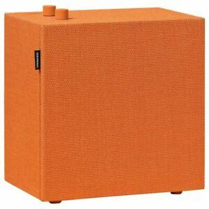 Urbanears-Stammen-Multi-Room-WIFI-Lautsprecher-Orange-WLAN-Bluetooth-Speaker-Box