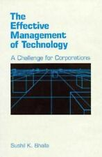 The Effective Management of Technology: A Challenge for Corporations