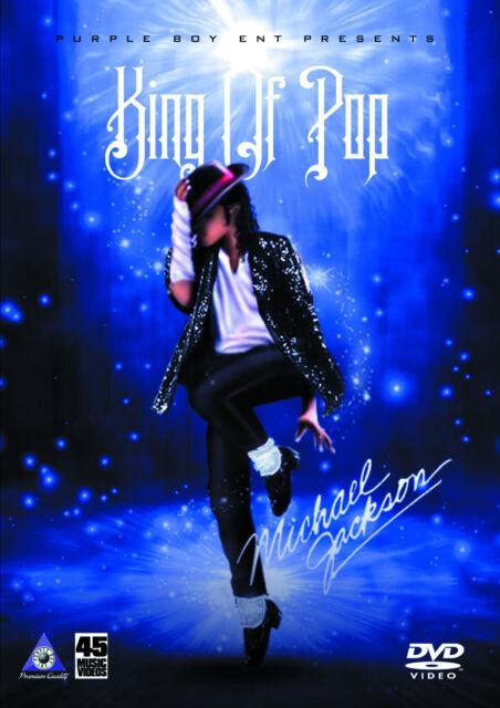 Michael Jackson King of Pop 45 Musikvideos Pop r&b DVD Janet Jackson 5 Akon