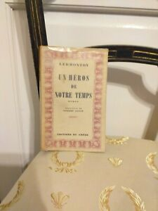 EO-Lermontov-Un-Heros-de-Notre-Temps-Editions-du-Chene-1946-TBE