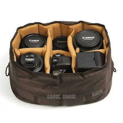 Ciesta Flexible(L) Camera insert Partition Padded Bag Case for Lens DSLR SLR