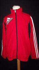 veste de survêtement Adidas Rouge Taille 12 ans à - 48%