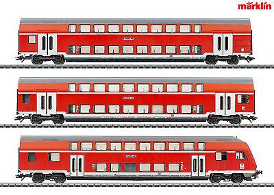 Doppelstock-Steuerwagen 2 Neuware DB Kl Märklin H0-43586