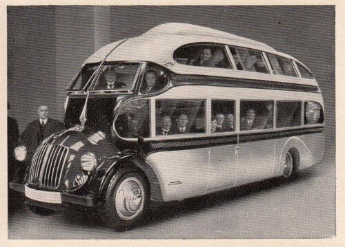 LUDEWIG manger-Vieux manger Sammelbild bus OPEL-BLITZ routes-Zeppelin