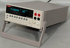 Keithley 2001 7 12 Digit Multimeter Dmm With2001 Tcscan 9 Channel Scanner Card