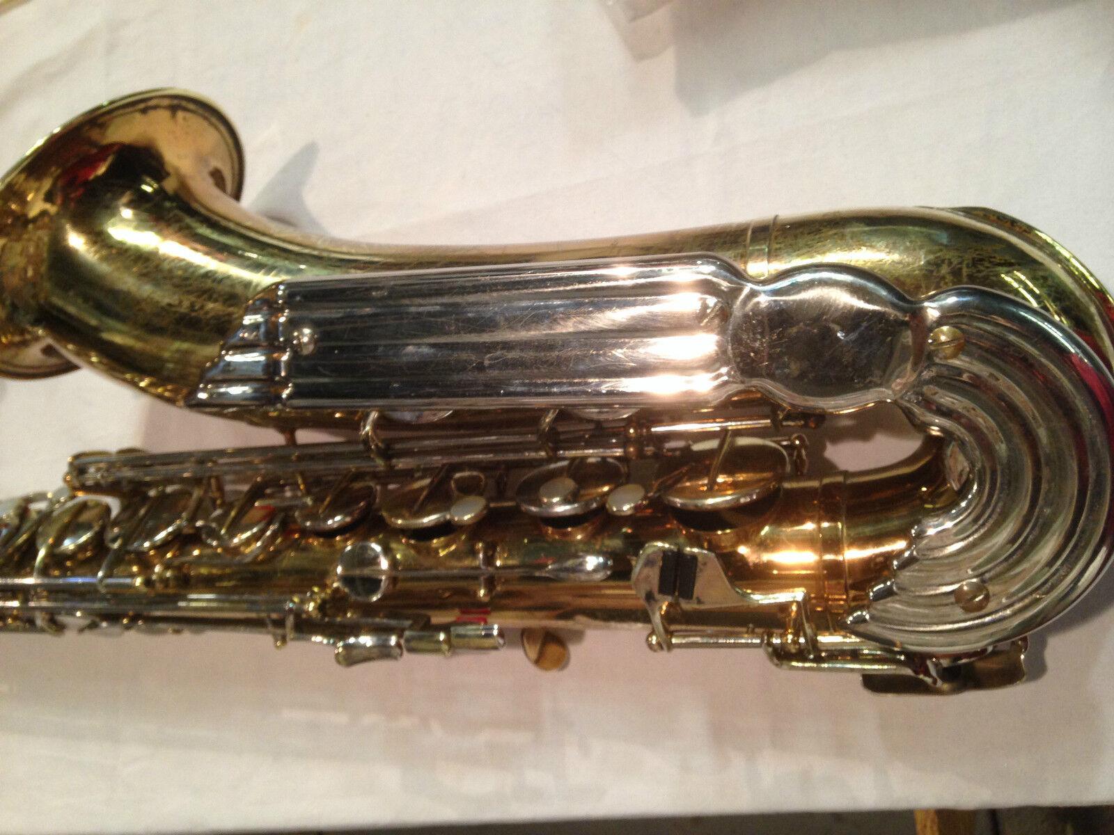 Julius Keilwerth  The  New King Angel Wings tenor saxophon