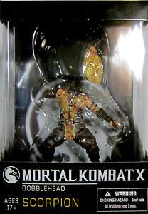Kompetent Mortal Kombat Scorpion Ltd Wackelkopf Bloody Edition Bobble Head Wobbler QualitäTswaren