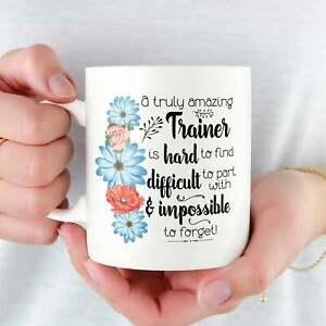 Trainer Mug For Trainer Gifts For Trainer Coffee Mug Thank You Leaving Mug