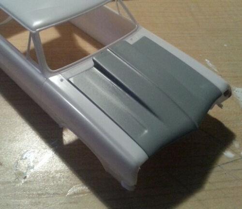 LEX-039-S-SCALE-MODELING-Resin-Cowl-Hood-039-65-Chevelle-SS-396-Z-16-Revell-1-25